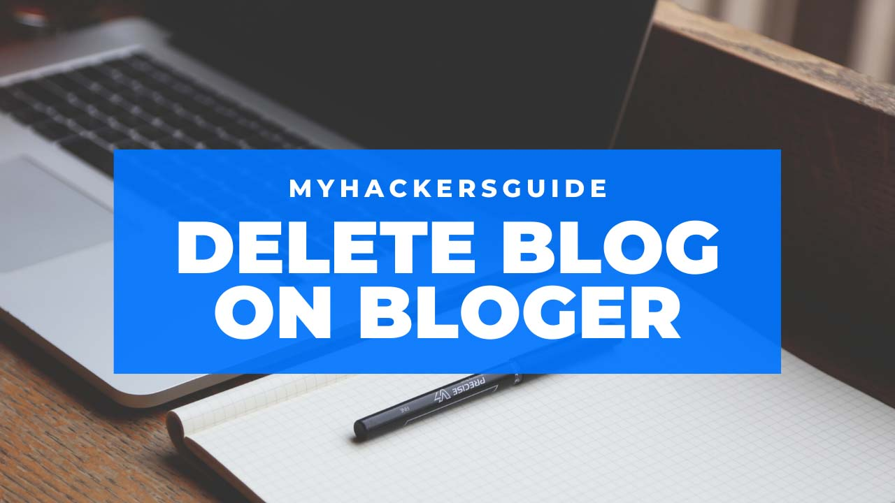 delete blog on blogger