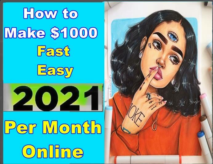 How to make $1000 per month online