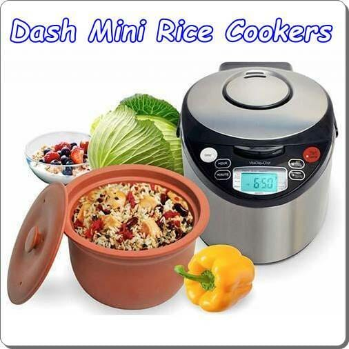 dash Mini Rice Cookers