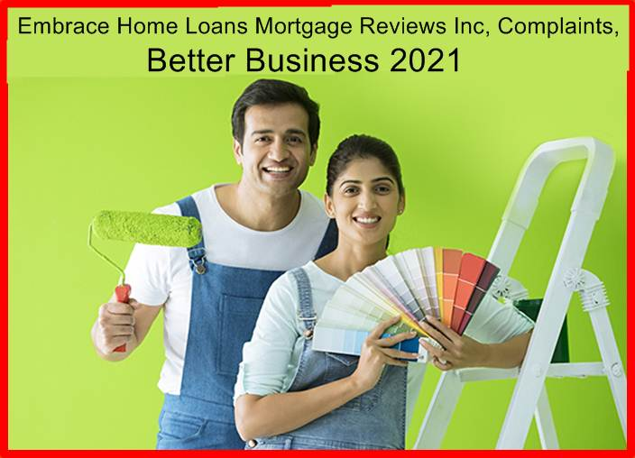 Embrace Home Loans Mortgage Reviews