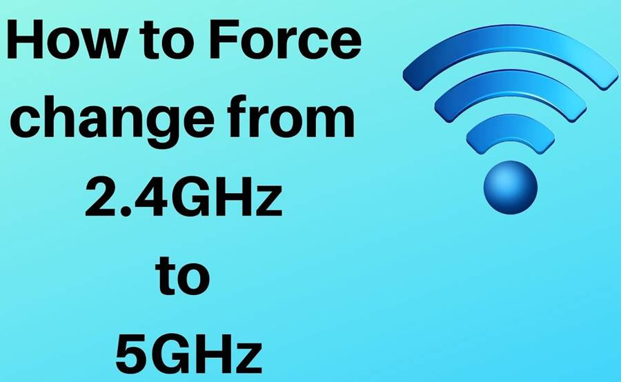 How Can I Easily Switch from 2.4 GHz to 5 GHz in Windows 10?