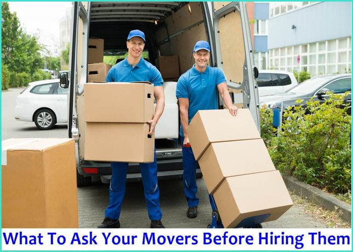Movers Before Hiring Them