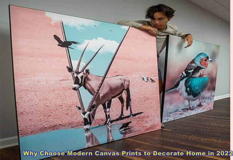 Why Choose Modern Canvas Prints to Decorate Home in 2022